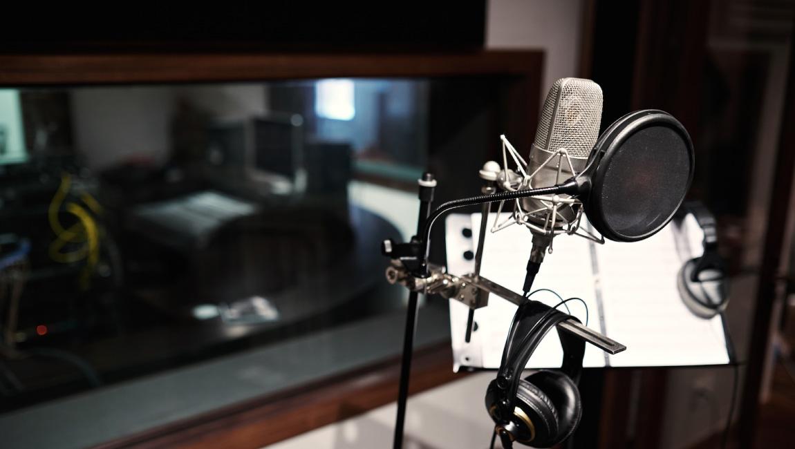 スタジオナレーション収録